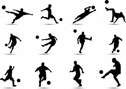 soccer_silhouette_311286